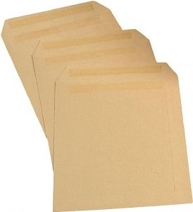 C5 Manilla Self Seal Envelopes 229x162mm A5
